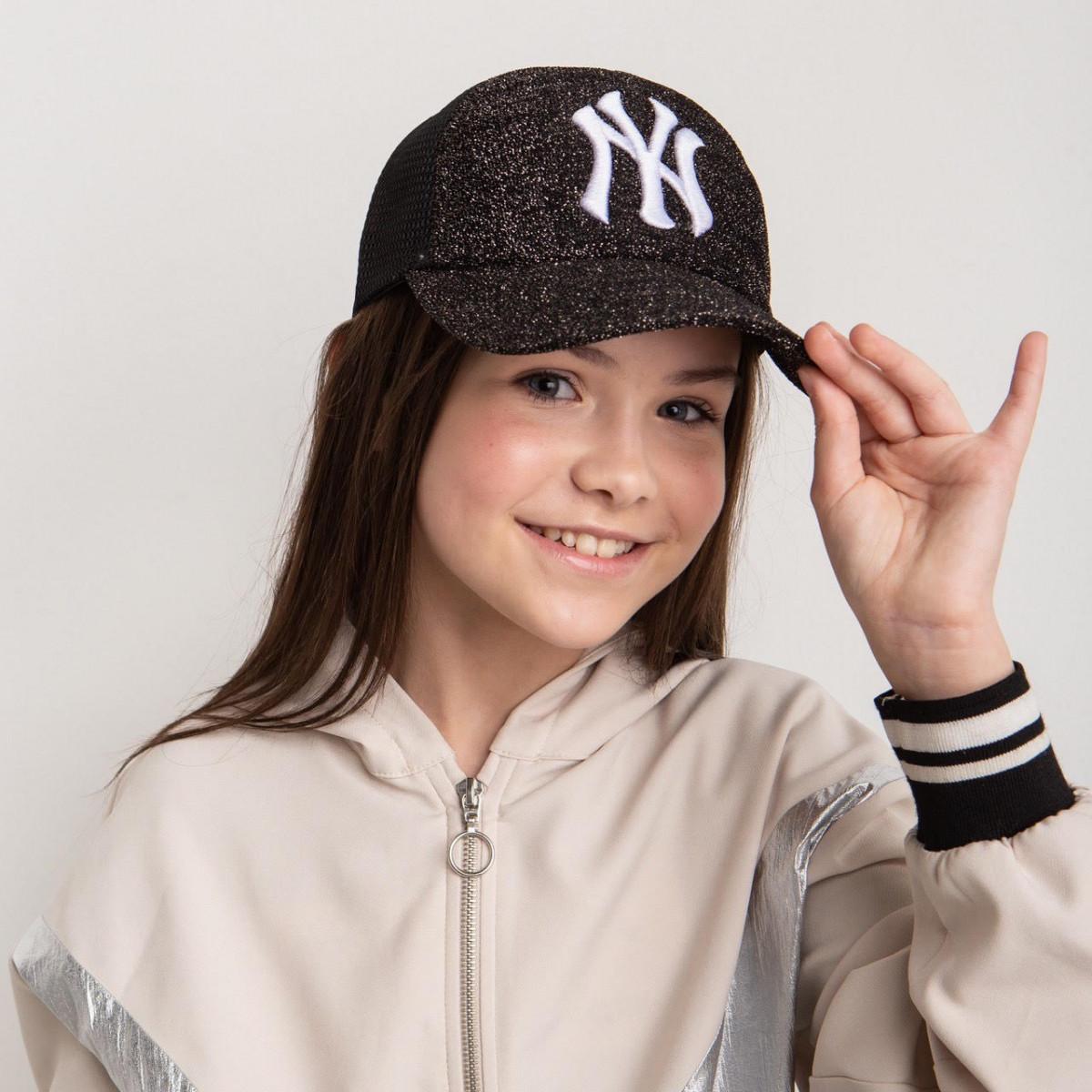 Модная кепка для девочек и женщин на лето оптом - Нью Йорк