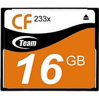 Карта памяті Compact Flash 16Gb 233x Team