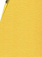 Креповая бумага Cartotecnica Rossi - Желтая, рулон 50x250 см