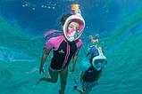Маска для підводного плавання Easybreath Tribord/Subea Найкраща копія, фото 5