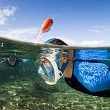 Маска для підводного плавання Easybreath Tribord/Subea Найкраща копія, фото 4