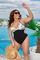 Женский купальник из бифлекса батал с 48 по 58 размер