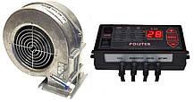 Автоматика Polster C-11 + вентилятор WPA-120 k-ZW комплект для твердопаливних котлів