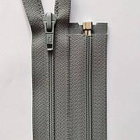 Молния 6 спираль разъемная  riZip 25-75 см, разные цвета светло-серый, 300