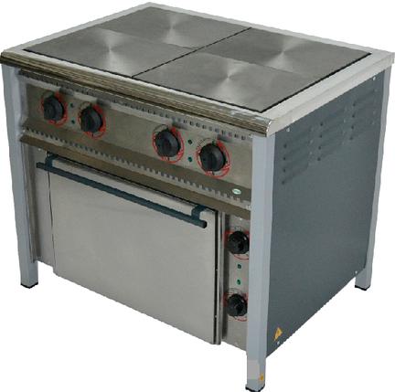 Плита електрична Арм-Еко ПЕ-4Ш/полімер., фото 2
