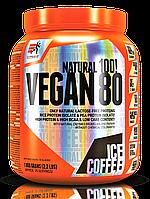 Extrifit Vegan 80 1000g растительный рисовый гороховый протеин для вегетарианцев веганский без лактозы жиров