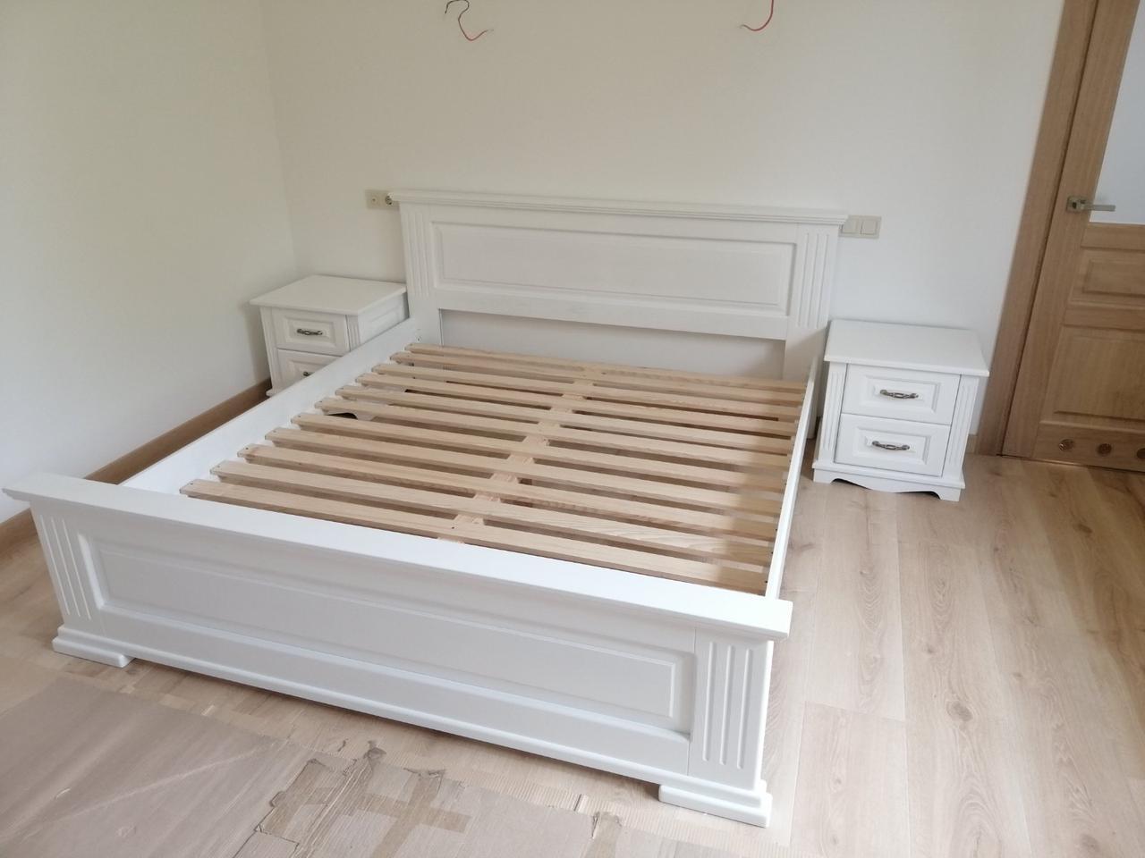 Кровать ШОПЕН1,6*2 (белый)