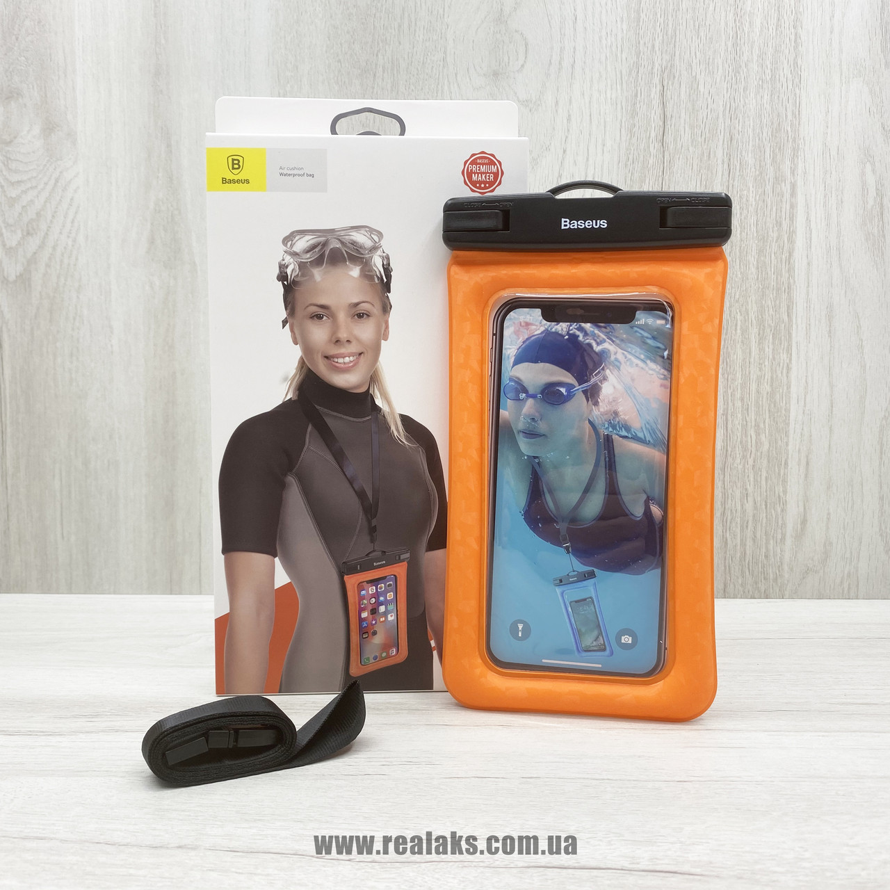 Чохол BASEUS Waterproof bag (Orange)