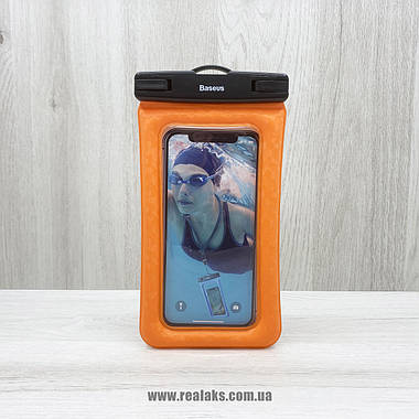 Чохол BASEUS Waterproof bag (Orange), фото 3