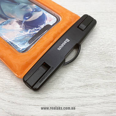 Чохол BASEUS Waterproof bag (Orange), фото 2