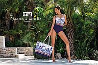 Купальник   Marc&Аndre 2020 слитный с пуш-ап в цветочный принт