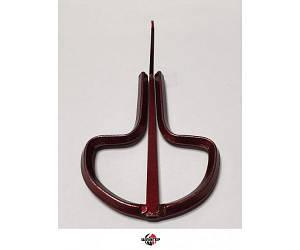 KARL SCHWARZ №12 Варган (варган) 75мм, красный
