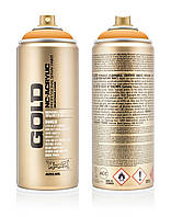 Краска Montana Gold 2030 Черно-оранжевый 400 мл (Blast Orange) (284236)