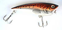 Воблер (поппер) Каида для рыбалки, длина - 70мм, вес - 9г