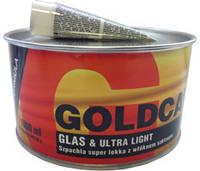 Шпатлёвка со стекловолокном GOLD CAR+  GLAS & ULTRA LIGHT 1 L