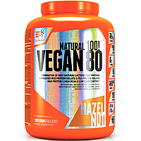 Extrifit Vegan 80 2000g растительный рисовый гороховый протеин для вегетарианцев веганский без лактозы жиров