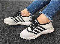 Кроссовки женские сеточка 36-39 р, легкие летние кроссовки, белые летние женские кеды, кроссовки женские белые