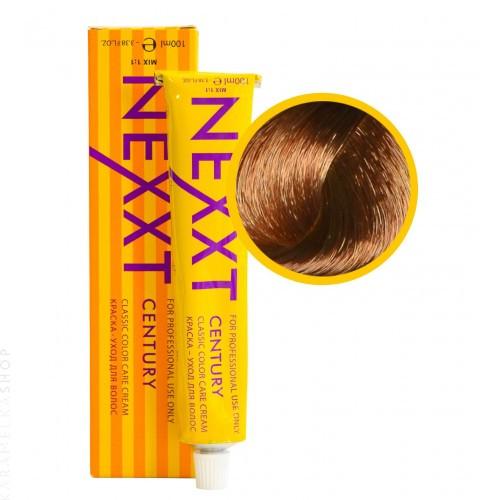 Крем-краска для волос Nexxt Professional 7.36 среднерусый золотистофиолетовый, 100 мл.