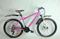 """Горный велосипед женский Fort Gratia 26""""2021 v-brake"""