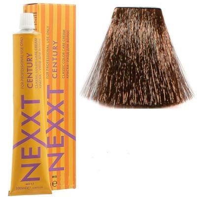 Крем-краска для волос Nexxt Professional 7.77 средне русый насыщенный коричневый, 100 мл.