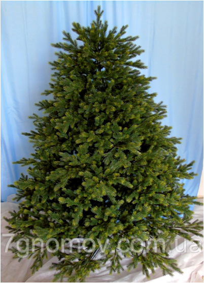 """Искусственная елка литая """"Барокко"""" 2.7 м."""