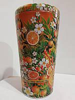 Подарочный чай Челтон Chelton, в жестяной банке Ваза Солнечный фрукт, 100г