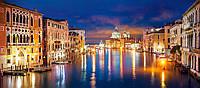 Пазлы,600 панорама, Большой канал, Венеция Castorland, B-060245