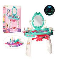Трюмо-туалетный столик с зеркалом BOWA 8238. свет, звук, 22 аксессуары, фен на батарейках