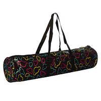 Аксессуар для спорта MS 2516 (50шт) чехол для йога-коврика, 68см,застеж-молния, 2ручки,1наруж.карман