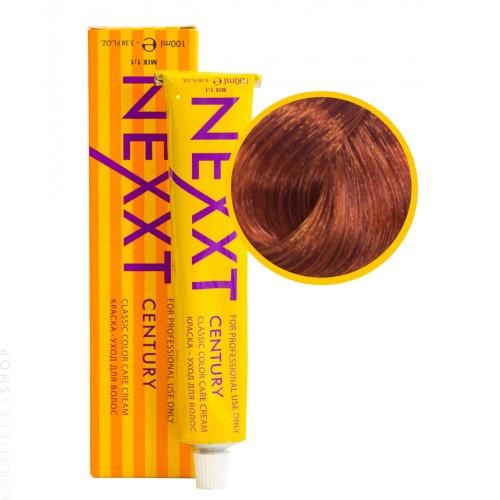 Крем-краска для волос Nexxt Professional 8.4 светлорусый медный, 100 мл.