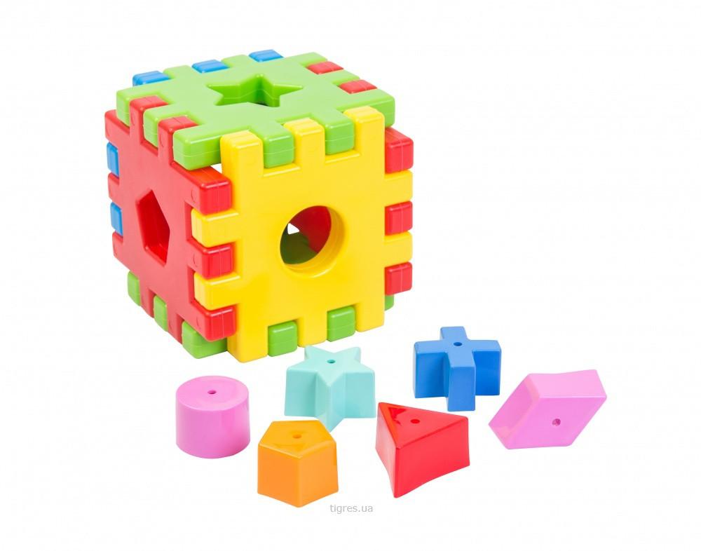 """Іграшка розвиваюча """"Чарівний куб"""" 12 ел. в коробці"""