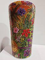 Подарочный чай Челтон Chelton Ваза, в жестяной банке Золотая лагуна, 100г