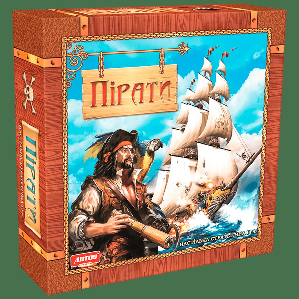 """Игра """"Пираты"""",(Ігри преміум в цільній єврокоробці (кришка+дно)),"""