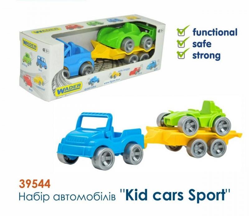 """Набір авто """"Kid cars Sport"""" 3 ел. (джип + багі)"""