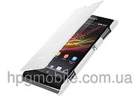 Чехол для Sony Xperia L C2105 S36h - Melkco Book leather case (SEXPELLCFB2WELC)