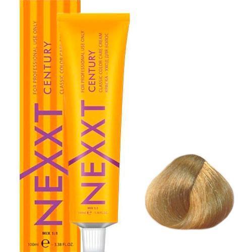 Крем-краска для волос Nexxt Professional 9.3 блондин золотистый, 100 мл.
