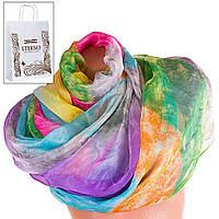 Женский разноцветный шарф из шифона ETERNO p-p-73