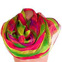 Женский разноцветный шарф из шифона ETERNO p-p-68