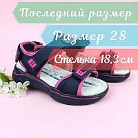 Детские спортивные босоножки для девочки тм Tom.m размер 28, фото 1