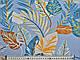 Штапель твил тропический, голубой, фото 3