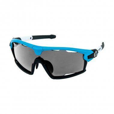 Окуляри HQBC QERT PLUS FF синій 3в1+димчаста лінза+рамка