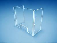 Стекло для защиты продавца( персонала) 750х680мм из оргстекла (Толщина акрила : 3 мм; )