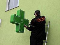Монтаж аптечного креста