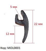 Уплотнитель лобового стекла Opel Vectra, Опель Вектра, универсальная уплотнительная резинка, MOL0001