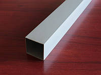 Квадратная алюминиевая труба 40х40мм
