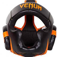 Боксерский шлем Venum Challenger 2.0 Neo Orange/Black