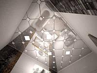 Зеркальный потолок  Бафони  (Bafoni) 300/300 /0,63 мм, фото 1