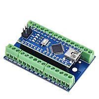 Плата расширения V3 для Arduino Nano (Шилд)