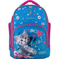 Рюкзак школьный Kite Education Rachael Hale Синий с розовым (R20-706M)