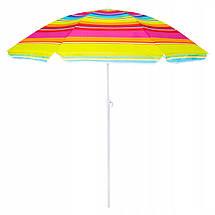 Пляжный зонт с регулируемой высотой Springos 160 см BU0005, фото 3